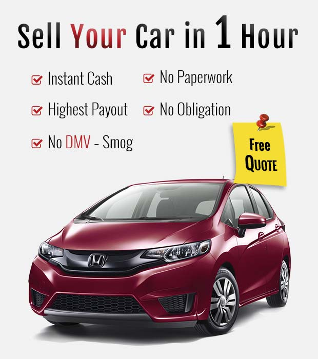 Sell any car in just 1 hour.