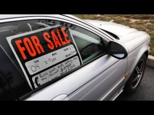 Car advertisement for sale
